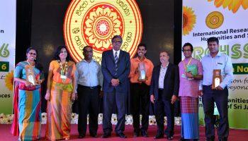 Dr.Gamini Ranasinghe won an award