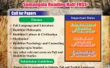 13th International Conference on Pali and Buddhist Studies 2017