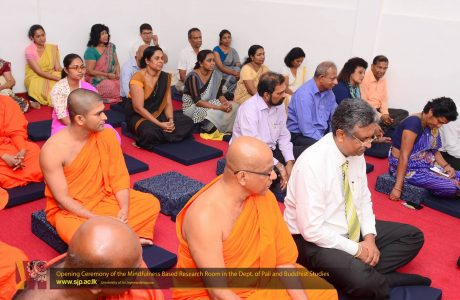Opening Ceremony of Mindfullness Research Room at FHSS (21)