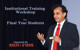 Institutional Training Workshop for Final Year Students
