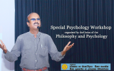 Special Psychology Workshop organised by the Union of the Philosophy and Psychology