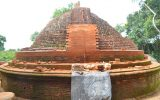 Stupa Construction in Progress