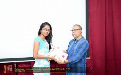 Vidyodaya Undergraduate Research Day 2019 (1)