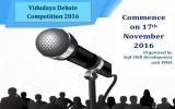 Vidudaya Debate Competition 2016