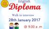 Diploma in English – Intake 03 (2017)