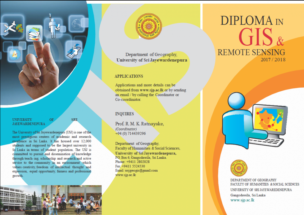 Diploma in GIS and Remote Sensing