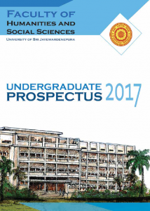 Faculty of humanities and social sciences prospectus | faculty of.