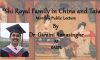 """Lecture on """"Shi Royal Family in China and Taiwan"""" By Dr. Gamini Ranasinghe at RASSL"""