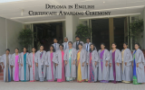 Diploma in English – Certificate Awarding Ceremony