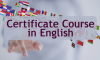 Certificate Course in English 2017-2018