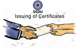 Issuing of Certificates by Soft Skills Development Unit