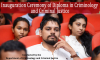 Inauguration Ceremony of Diploma in Criminology and Criminal Justice, 2017 Intake
