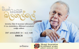 Academic Discourse on behalf of the 93rd Commemoration of Prof. W. G. Balagalle