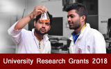 University Research Grants 2018 (Applications are now open)
