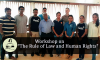 "Workshop on ""The Rule of Law and Human Rights"""