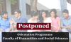 Postponed: Enrollment and the Orientation Programme of the FHSS 2018/2019