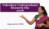 Vidyodaya Undergraduate Research Day – 2018