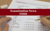 Examination News