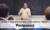 Commencement of Academic Works Postponed