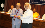 Royal Asiatic Society Gold Medal Awarded to Prof. W. G. Balagalle