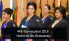 44th Convocation 2018 – Notice to the Graduands