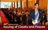 44th Convocation 2018 – Issuing of Cloaks and Passes