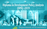 Applications are now Calling for the Diploma in Development Policy Analysis (DPA) -2019 (Deadline Extended)