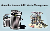Guest Lecture on Solid Waste Management organized by Dept of Anthropology