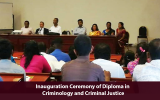 Inauguration Ceremony of Diploma in Criminology and Criminal Justice, 2018 Intake