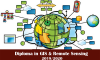 Diploma in GIS & Remote Sensing 2019/2020