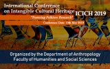 International Conference on Intangible Cultural Heritage (ICICH 2019)