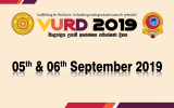 Vidyodaya Undergraduate Research Day (VURD) 2019