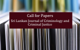 Call for Papers-Sri Lankan Journal of Criminology and Criminal Justice