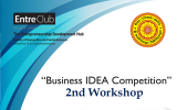 Business Idea Competition 2019 – 2nd Workshop