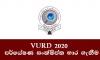 උපාධි අපේක්ෂක පර්යේෂණ දිනය (VURD 2020) – සංක්ෂිප්ත භාර ගැනීම