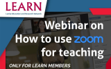 Webinar on Zoom Video Conferencing for Research and Education