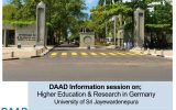 DAAD Information Session on Higher Education and Research in Germany