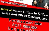 Online Job Fair by the Department of Geography