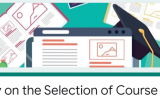 For 1st and 2nd Year Students – Survey on the Selection of Course Units